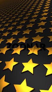Sternen Matrix Hintergrund - gold schwarz 1