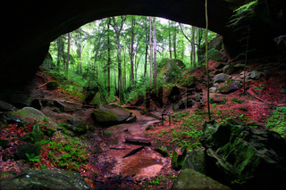 Natural Rock Bridge Alabama