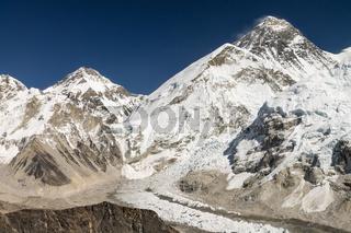 Mount Everest - view from Kala Patthar