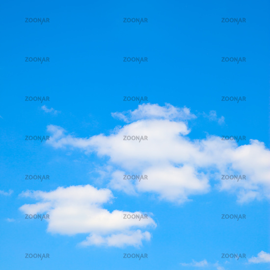 Cloudscape with space for text