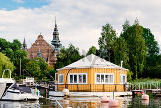 Nordiska Museum in Alberget in Stockholm, Sweden