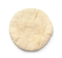 Uncooked pita flatbread