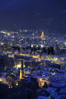 Garmisch-Partenkirchen in Bayern