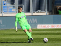 Torwart Morten Behrens  1.FC Magdeburg DFB  3.Liga Saison 2020-21