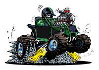 Vector Cartoon Buggy