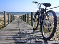 Bike on passage