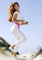 Girl beim joggen
