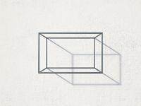 Single rectangular shaped wall rack 3D
