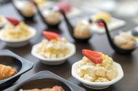 Assorted mini dessert
