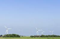 Windpark in Norddeutschland