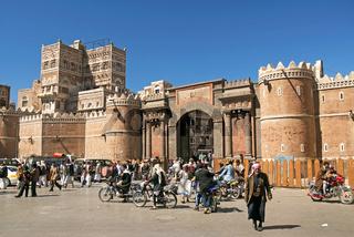 sanaa city in yemen