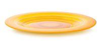 Orange striped plate