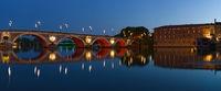 Toulouse center: Pont Neuf/Hotel de Ville (France)
