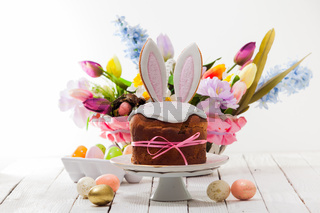 the set of different elements for Easter celebration