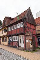 Alte Haeuser 001. Flensburg. Deutschland
