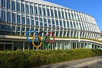 Sitz des Internationalen Olympischen Komitees, IOK, Lausanne, Schweiz