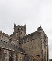 the historic medieval cartmel priory in cumbria now the parish c
