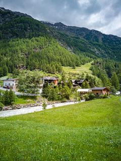 Idyllisches Ötztal, Tirol, Österreich