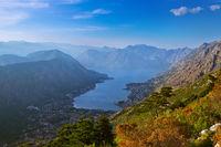 Kotor Bay on Sunset - Montenegro