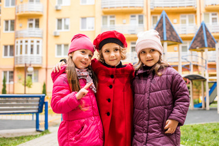 Friendship among girls in very early age