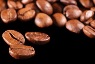 Coffee at black