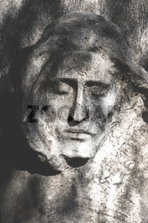 Bas-relief of Jesus