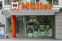 Filiale der Firma Müller in Kempten
