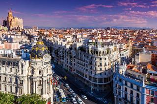 Gran Via Street, Madrid