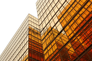 building glass wall