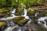 Selkewasserfall im Harz Region Harzgerode Selketal