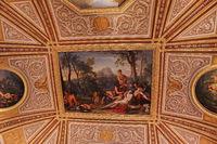 Rome, Galleria Borghese. Сeiling decor