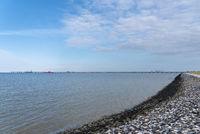 Küstenlandschaft beim Hooksieler Außenhafen