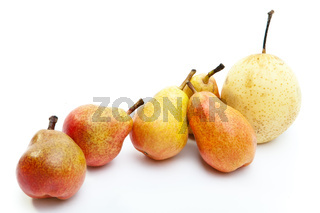 Pears of different grades
