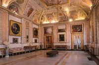 Rome, Galleria Borghese. Loggia Lanfranco