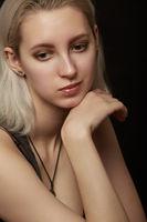 cute blond woman