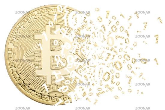 Bitcoin Krypto Währung online bezahlen digital Geld Kryptowährung Wirtschaft Finanzen Freisteller freigestellt