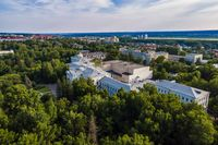Aerial view of the National Research Tomsk State University