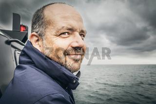 man at the bad sea