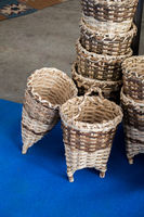 Empty wicker baskets for sale