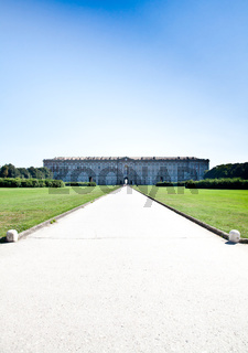 Royal palace gardens