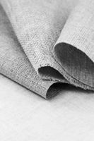 Various natural rough fabric of cotton and flax