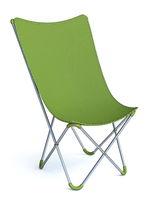 Green camping chair 3D