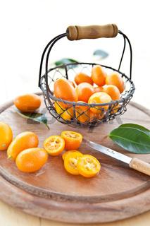 Frische Kumquats