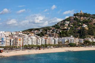 Resort Town of Blanes on Costa Brava in Spain