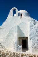 Church in Mykonos Island