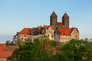 Welterbestadt Quedlinburg Schlossberg Stiftskirche
