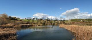 Ein namenloser Teich in Bosnien