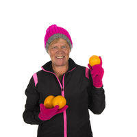 Fit Healthy winter woman