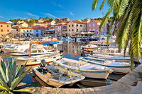 Village of Sali on Dugi Otok island colorful harbor view