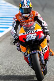 Dani Pedrosa pilot of MotoGP